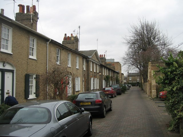 View down Willow Walk