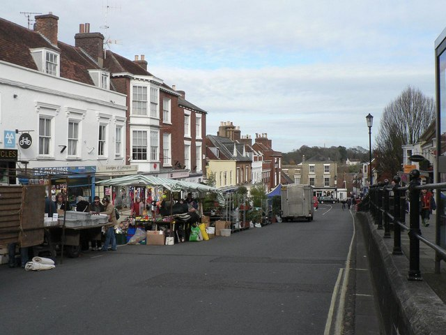 Lymington: market