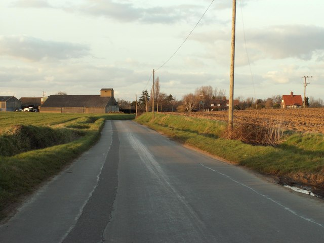 A view of Bockingham Hall Farm