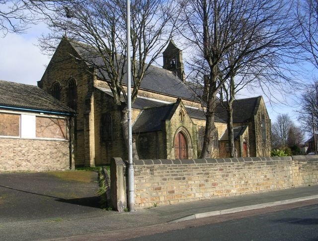 St Mary's Church (now disused) - Wakefield Road