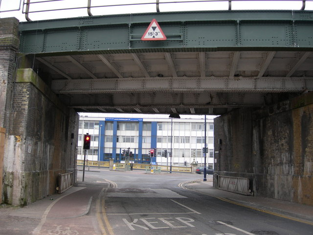 Railway Bridge at end of Canal Road
