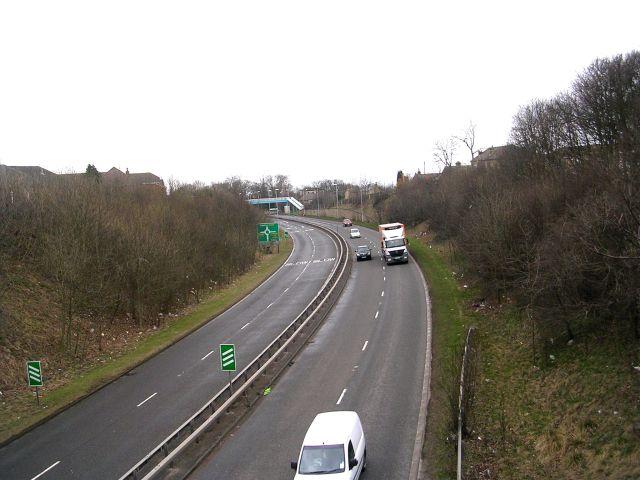 A638 - viewed from Swithenbank Street, Gawthorpe