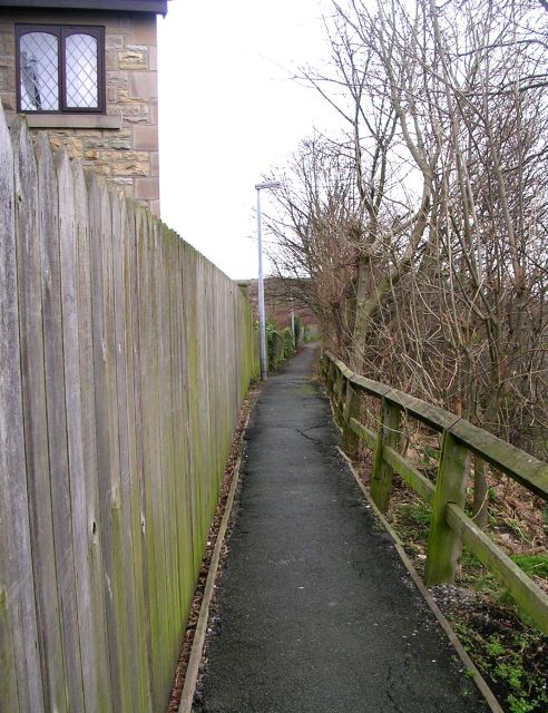 Footpath - Swithenbank Street, Gawthorpe