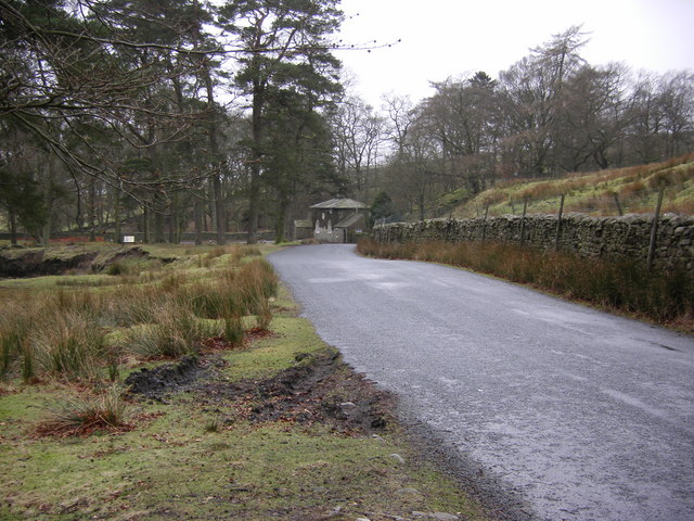 Tower Lodge from Trough road