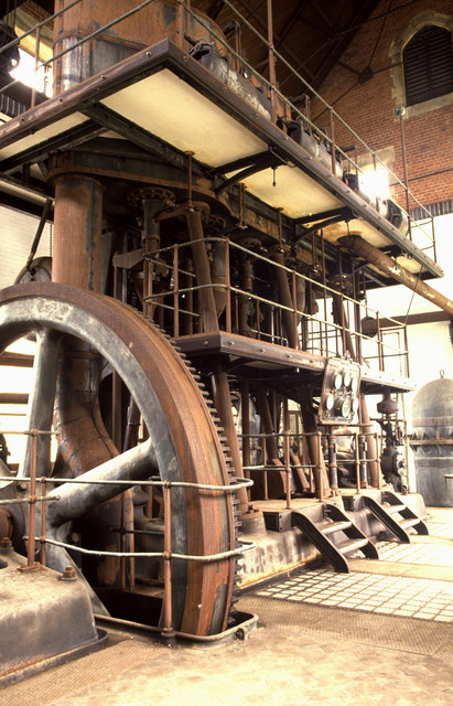 Chelvey Waterworks steam pumping engine