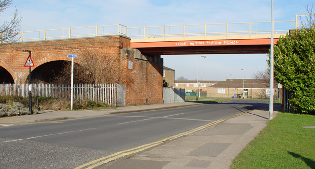 Railway Bridge, Ellis Street, Hull