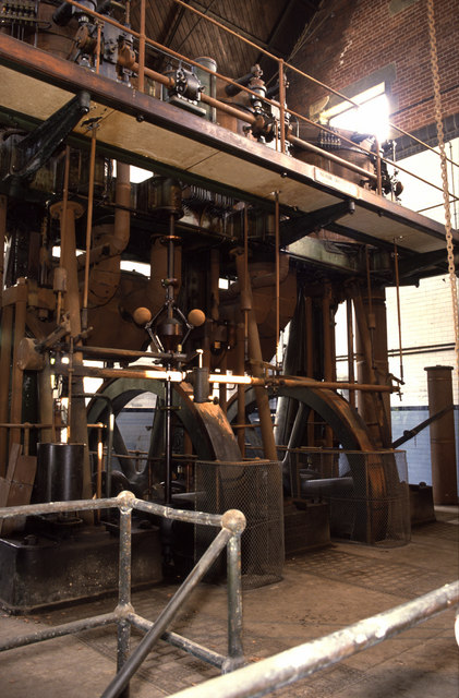 Victoria Water Works steam pumping engine.