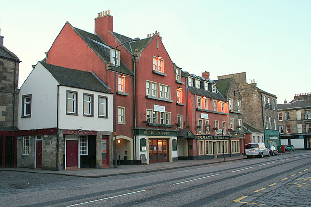 The County Hotel in Dalkeith