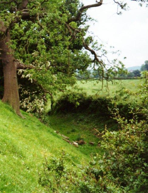 Offa's Dyke near Pentre-shannel