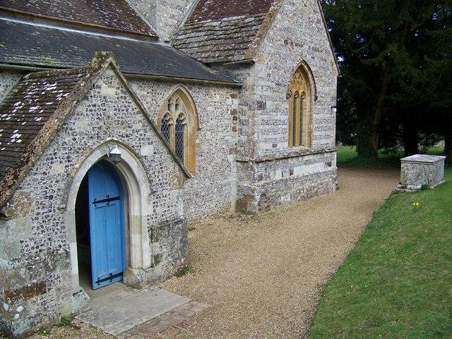 Porch, Parish Church of St Mary, Winterborne Whitechurch