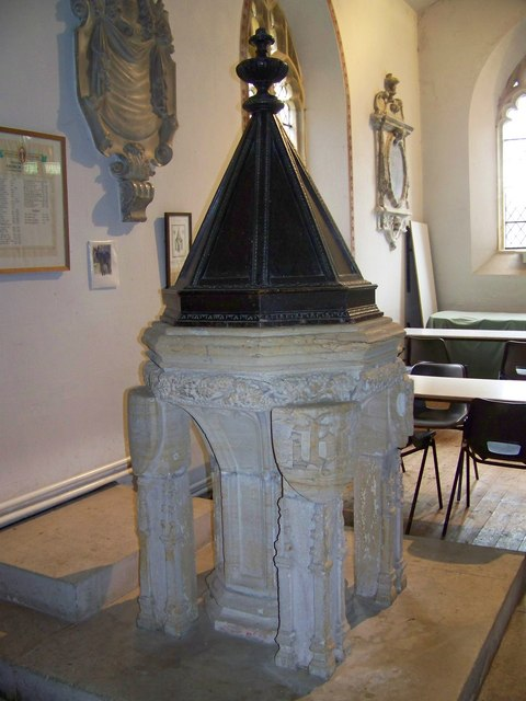 Font, Parish Church of St Mary, Winterborne Whitechurch