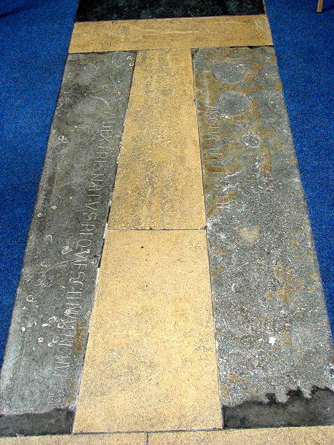 Norfolk's earliest identifiable tomb slabs