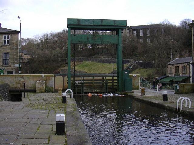 Lock No 19 Rochdale Canal
