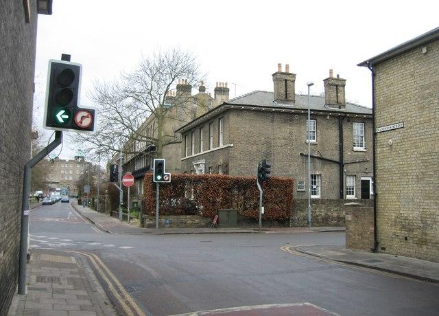 Clarendon Street meets Parker Street