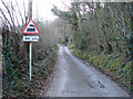 SN6878 : Approach to Aberffrwd level crossing by John Lucas
