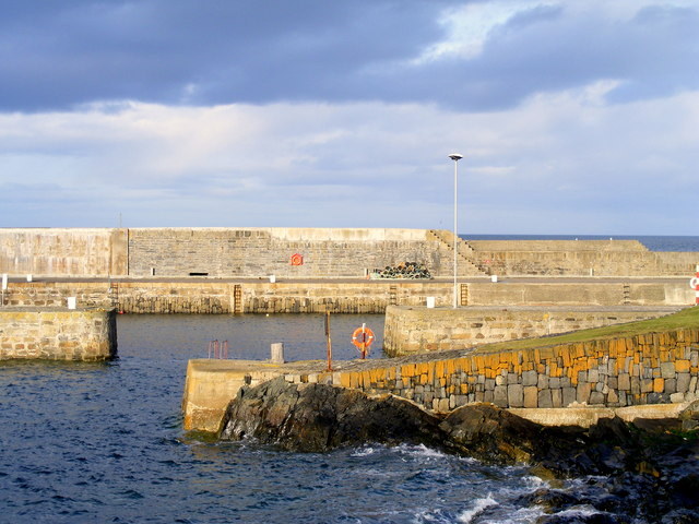 The Harbour at Portsoy