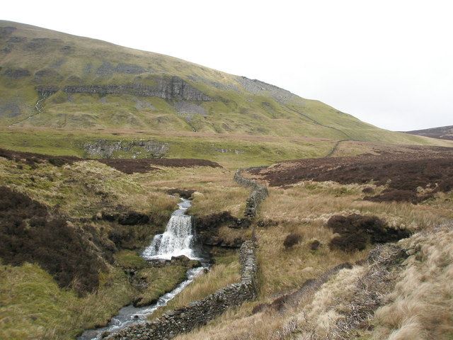 Waterfall on Crooke Gill