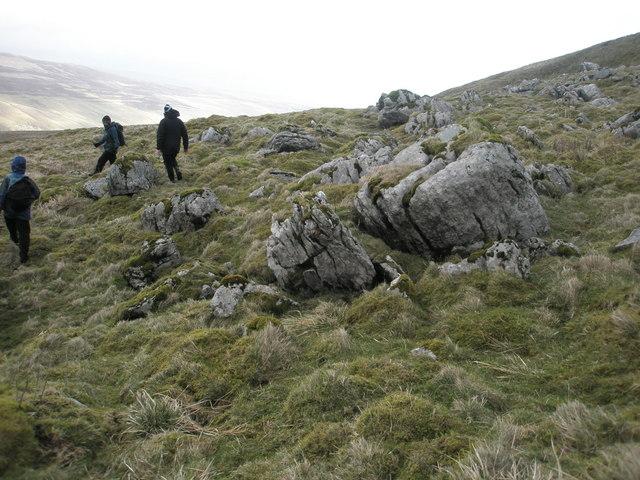 Rocks on Litton Fell