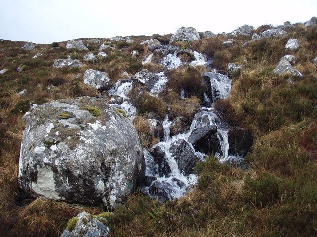 Water from Loch a' Mhonaidh-dhroighinn