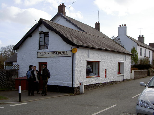 Cilcain Post Office.