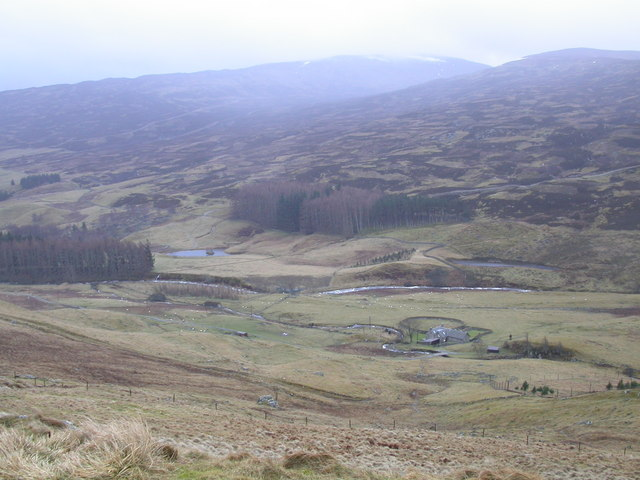 Pitmackie from Glen Quaich road