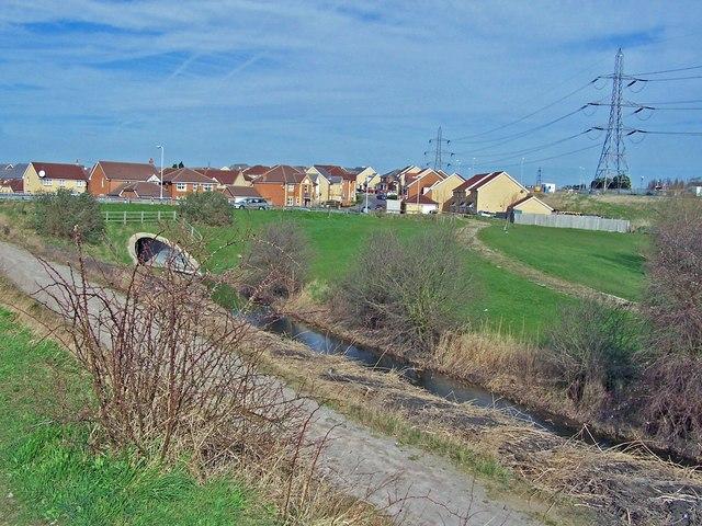 New housing at Kemsley