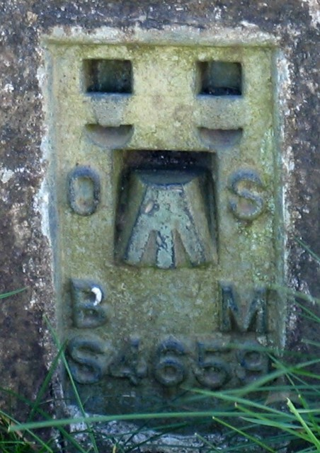 Plate on Wymondham triangulation pillar