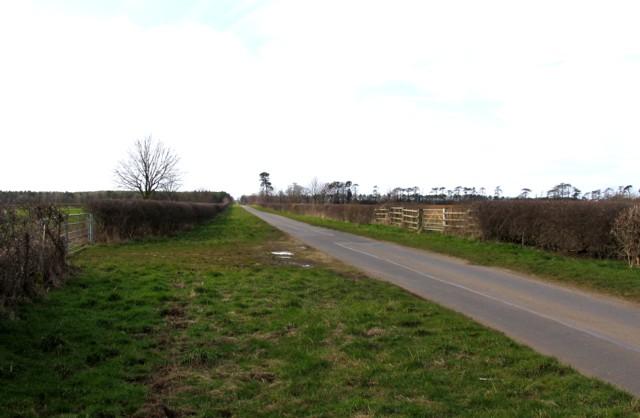 Former Ironstone branch crossing