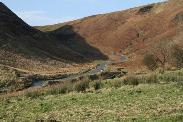 Trough road from Rams Clough