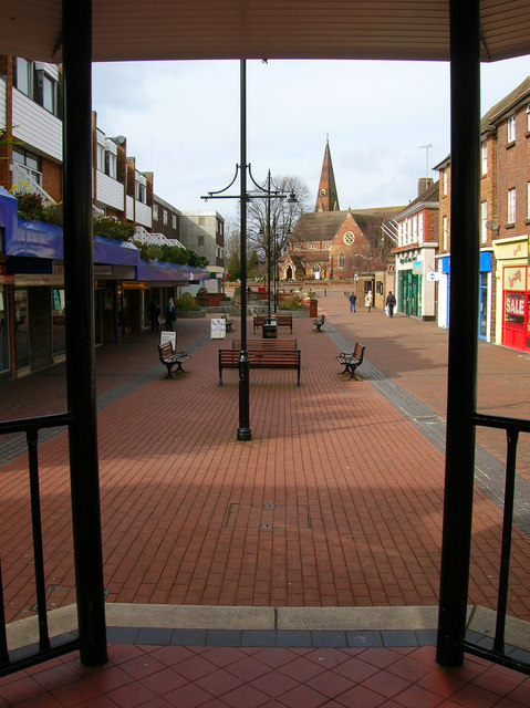 View from the Bandstand, Church Walk