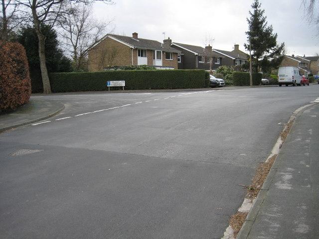 Top of Kirklands Lane