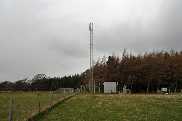 Farmland and Communication Mast
