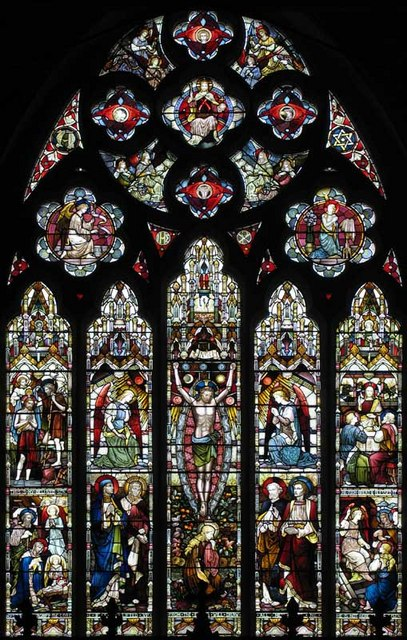 St Paul, St Paul's Road, Brentford, Mx TW8 - East window