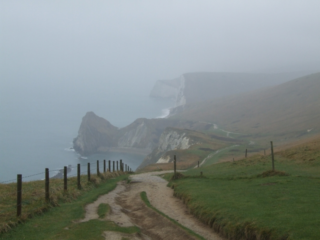 Drizzly day on the Coastal Path