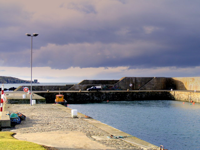 The New Harbour Portsoy
