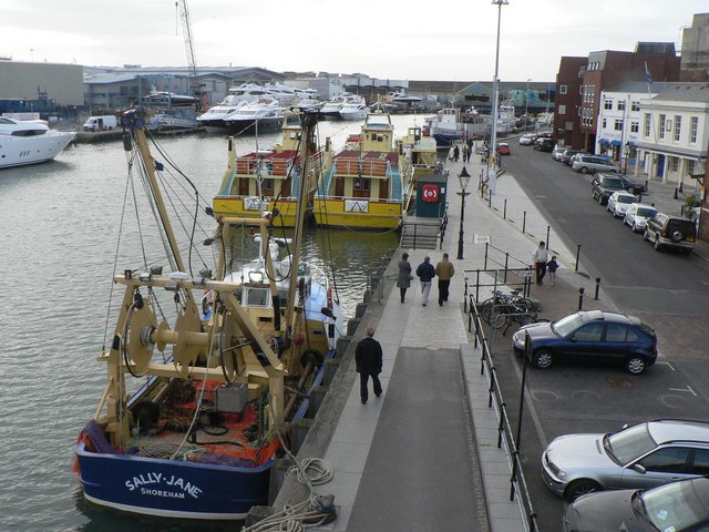 Poole: quayside