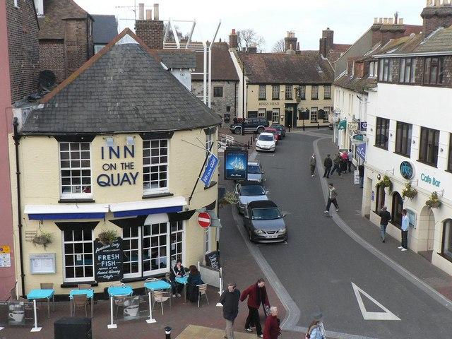 Poole: Inn on the Quay