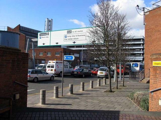 Towards Terminal 3 Car Park