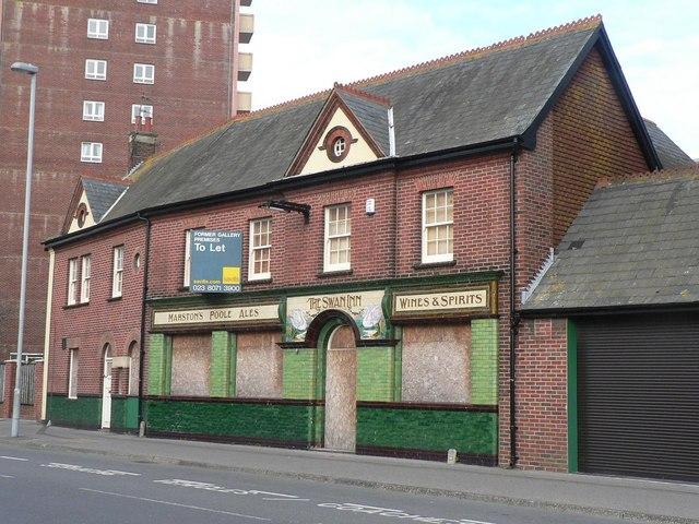 Poole: former Swan Inn