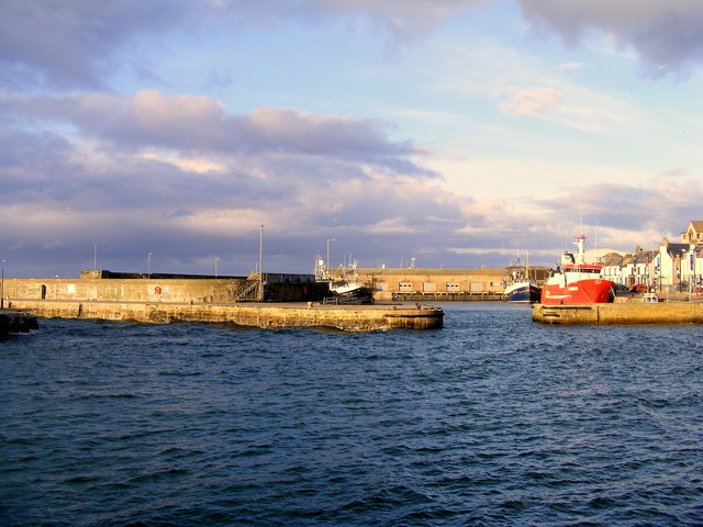 The Harbour at Macduff