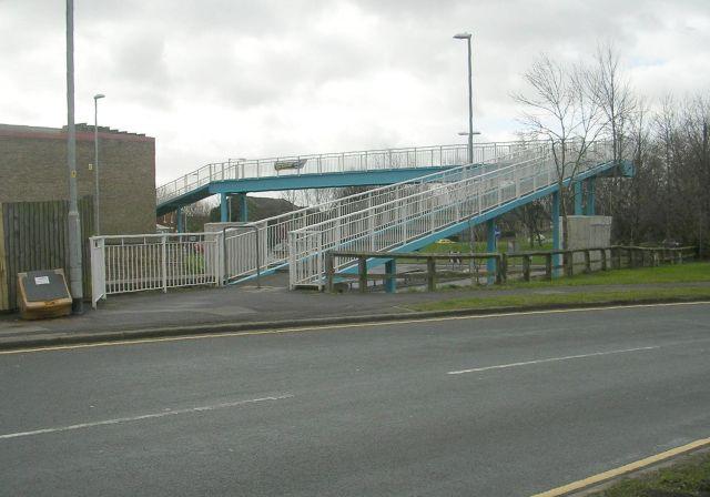 Footbridge over A638 - Gawthorpe
