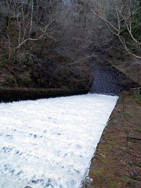 Lower spillway, Edgelaw Reservoir