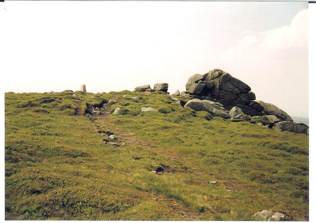 Wards Stone and Trig. Pillar