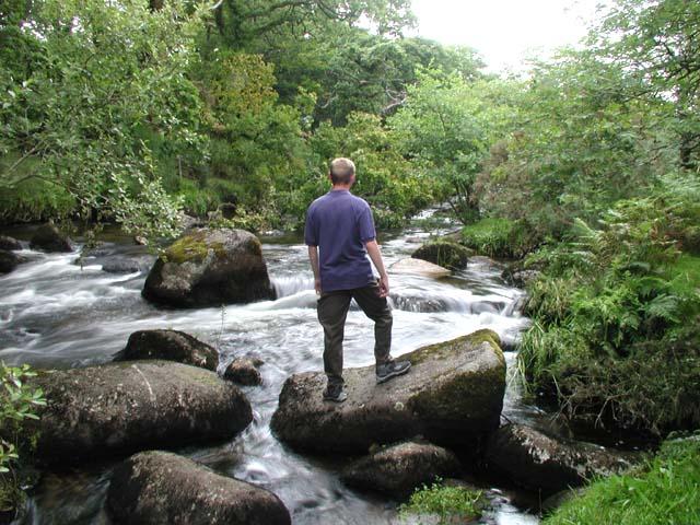 Dartmoor: East Dart looking North 2007