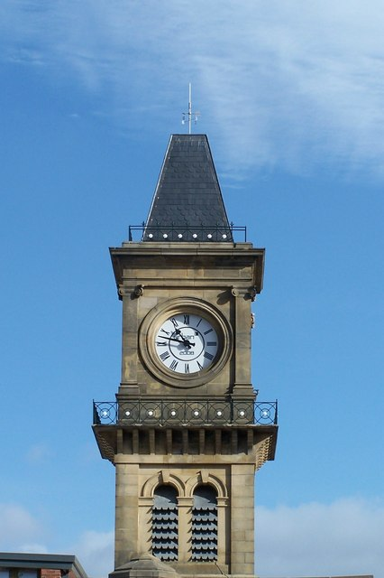 Clock Tower, originally part of Middlewood Hospital
