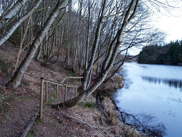 Lochside path, Edgelaw Reservoir