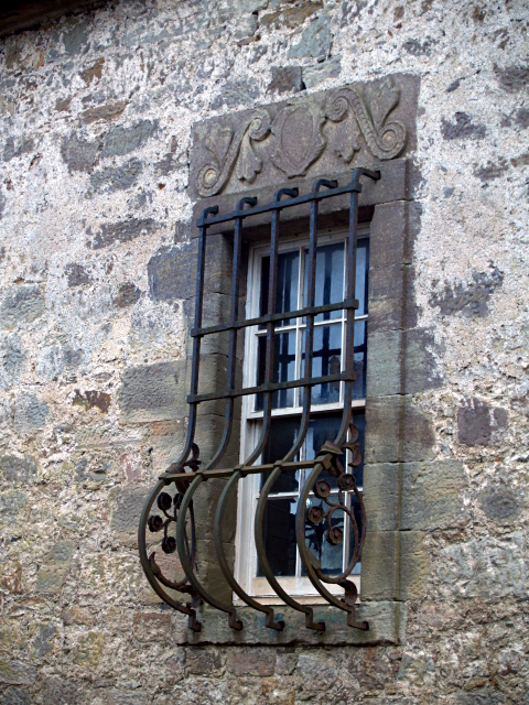 Barred window, Rosebury