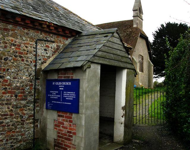 St Giles Church, Merston