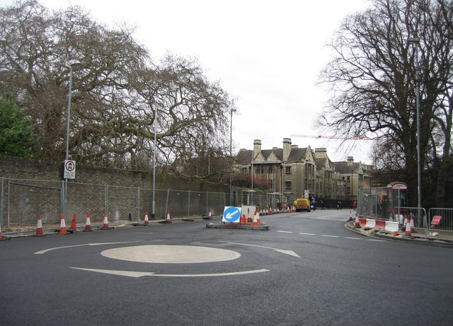 Mini roundabout