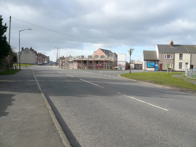 Shuttlewood - Staggered Road Junction View